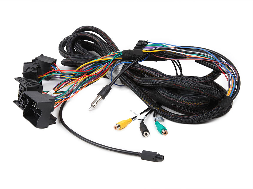 BMW E46/E39/E53(GA9150KW, GA8150A, GA8201A, GA8201, GA8166,  GA7150, GA7201, GA7166) 17 Pin + 40 Pin Extended Installation Wiring Harness
