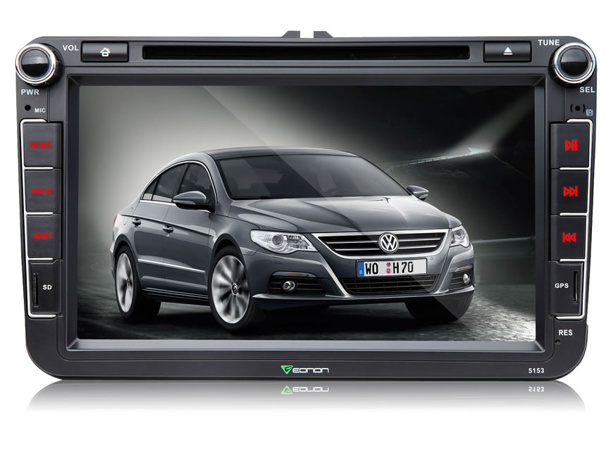 Volkswagen(VW) 8″ Multimedia Car DVD GPS with Mutual Control MirrorLink