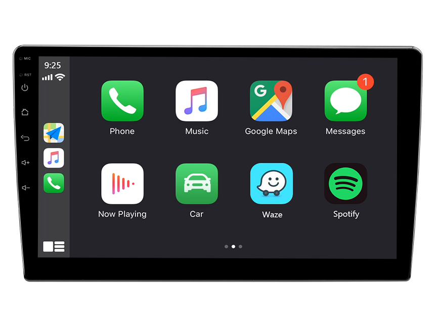 Eonon 10.1 Inch Android 10 Car Stereo with IPS HD Full Touchscreen Built-in Apple Car Auto Play Car GPS Navigation Built-in DSP Split Screen Multitasking