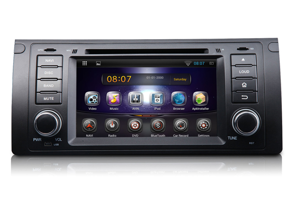 SALE! BMW E39 Android 4.2 Dual-Core 7″ Multimedia Car DVD GPS with Screen Mirroring (Upgraded to Android Unit GA5166F)