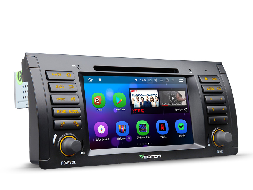 BMW E53 1999-2005 Android 7.1 Car Audio Multimedia System 7 Inch Touch Screen 2GB RAM Quad-Core Car Video player Double Din In Dash Bluetooth Support FM Radio USB Aux Audio Input