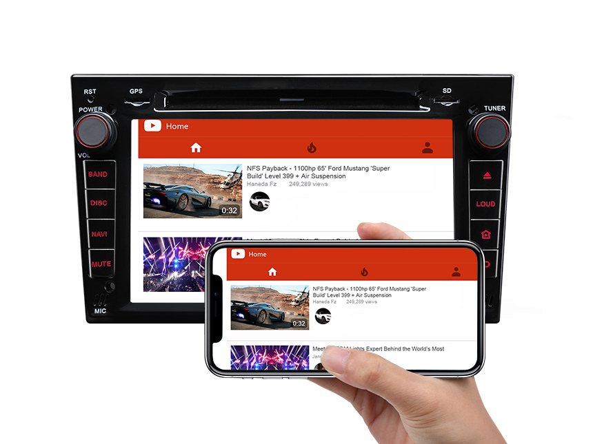 Designed for Vauxhall/Opel/Holden Android 8.0 Oreo 4G RAM, Octa-Core & 32G ROM Split Screen, Dual CAN Bus system and PIP Multitasking
