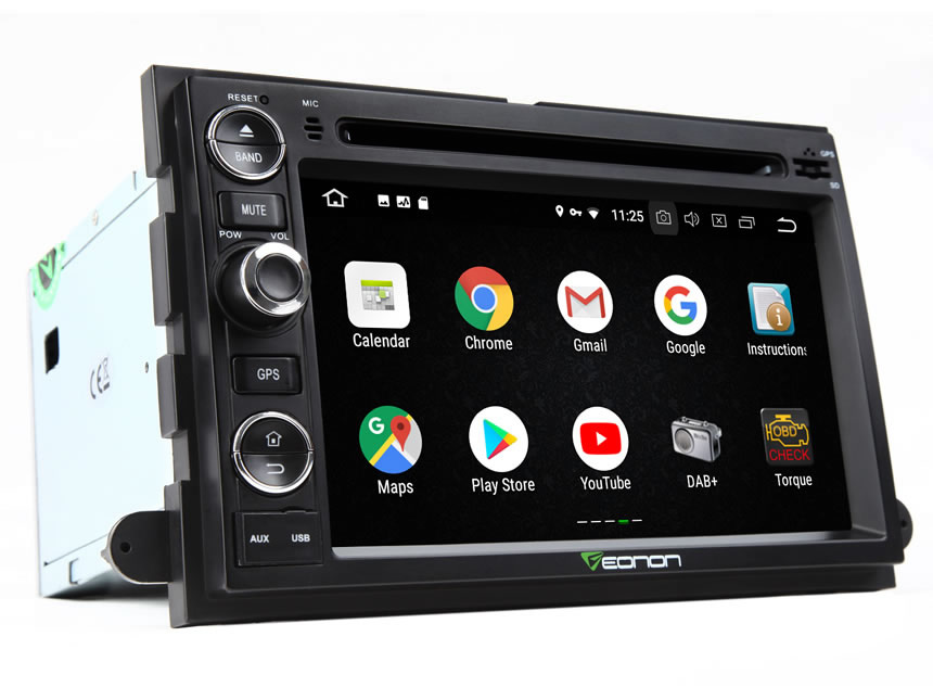 Ford F150 Android 8.0 Car Stereo With 4GB RAM High-End Rockchip Processor 7 Inch GPS Navigation Multimedia System